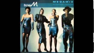 Boney M - Megamix (1988) - long version