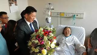 오흐나 후렐수흐(Ukhnaa KHURELSUKH) 몽골 총리 명지병원 방문