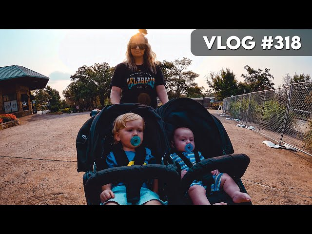 VLOG #318 / The Boys 1st Trip to the ZOO! / July 21, 2021