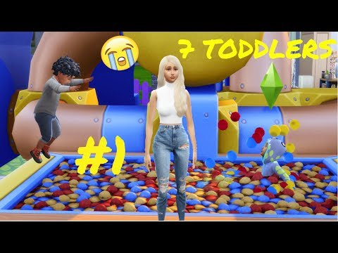 7 LITTLE DEMONS - TODDLERS CHALLENGE #1 - The Sims 4 ? ? [Toddler Stuff Pack + Parenthood] thumbnail