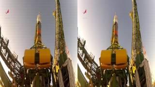 3D-відео. Вивезення РКН ''Союз-ФГ'' на стартовий стіл