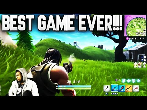 THE BEST GAME OF FORTNITE I'VE EVER PLAYED IN MY LIFE!!!