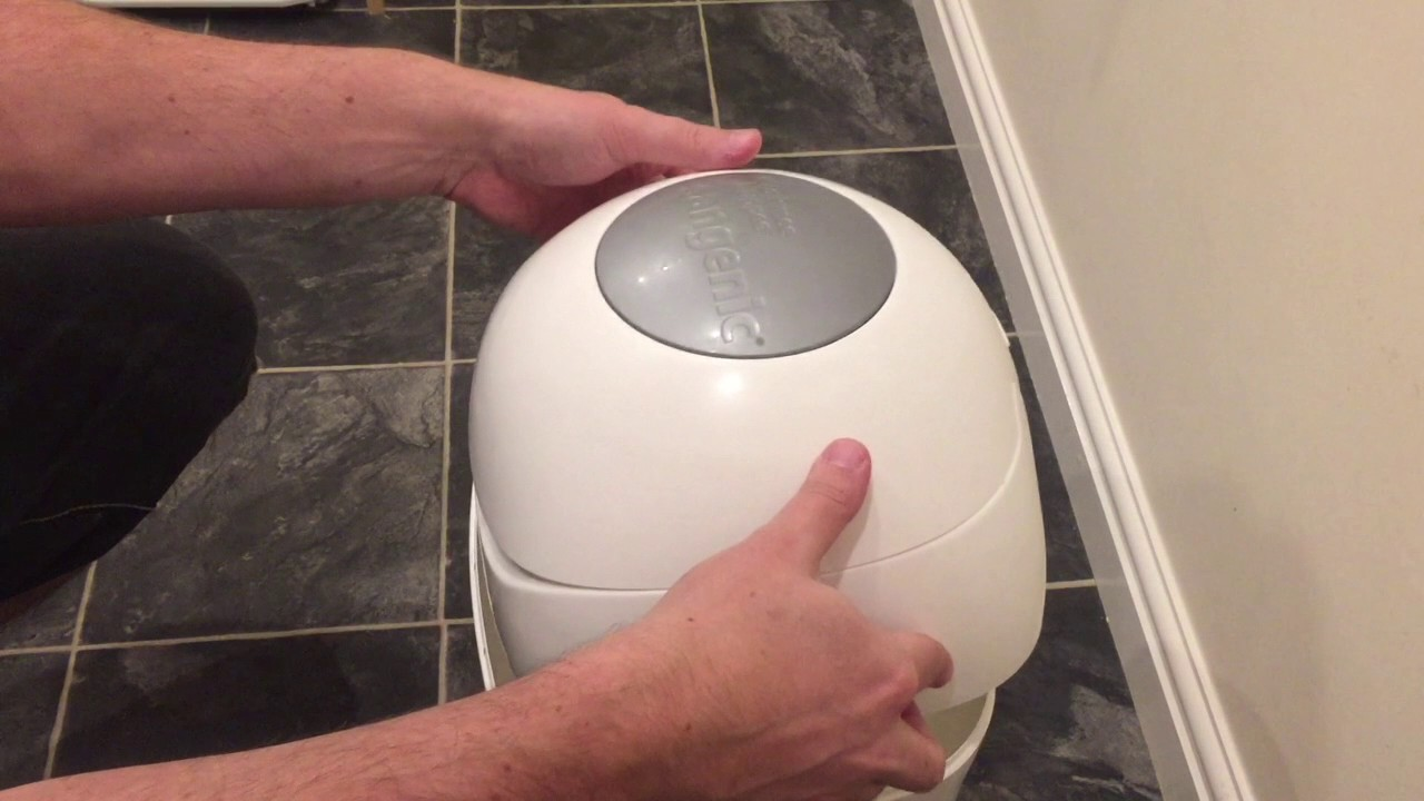 e767db0eeb7 TOMMEE TIPPEE SANGENIC TEC NAPPY DISPOSAL REVIEW - YouTube