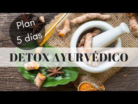 DETOX AYURVEDICO DE PRIMAVERA (Plan de 5 días)