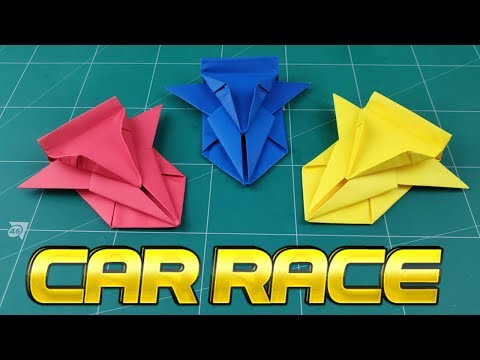 How To Make Easy Car Paper Model | Origami Car Way | DIY Paper Crafts Videos Tutorial