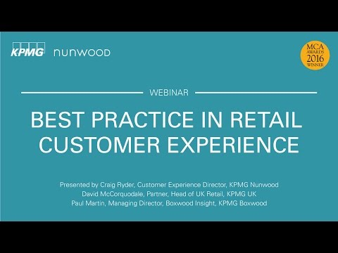 Best Practice in Retail Customer Experience
