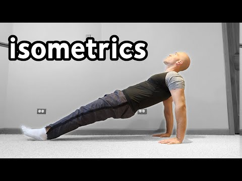 20 Isometric Exercises Anyone Can Do (With No Equipment)