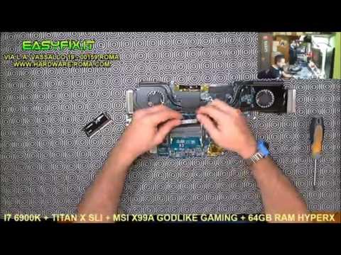 MSI Notebook Workstation - cambio pasta termica e pulizia