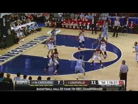 UNC Men's Basketball: Highlights vs. Louisville