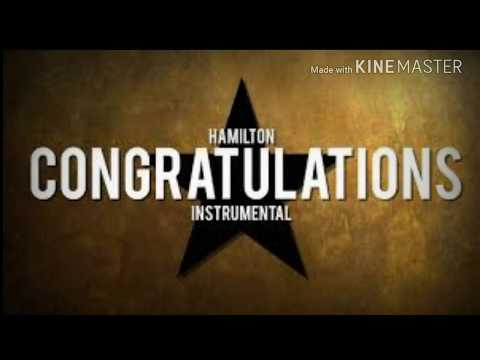 """""""Congratulations"""" From Hamilton. Cover by Darius Roleplays"""