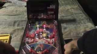 Unboxing: Big Bang Theory Tabletop Pinball
