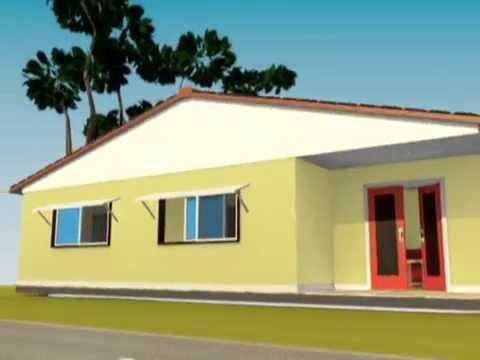 Rumah Minimalis 3D Blender & Rumah Minimalis 3D Blender - YouTube