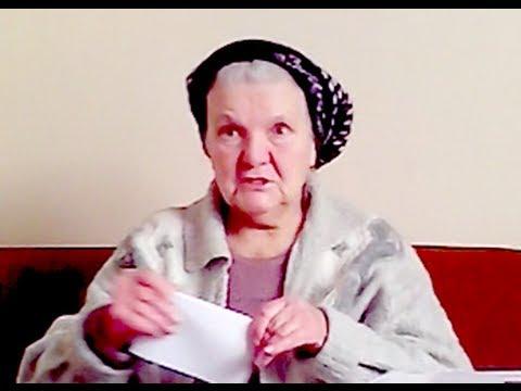 Русская бабушка приняла