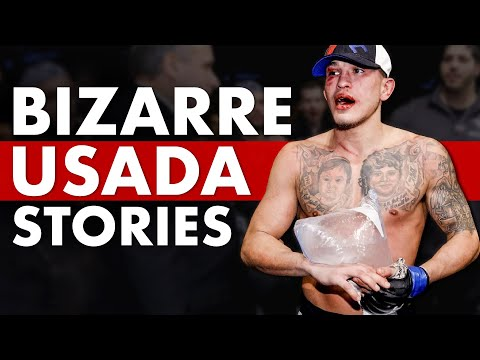 10 Most Outrageous USADA Testing Stories by UFC Fighters