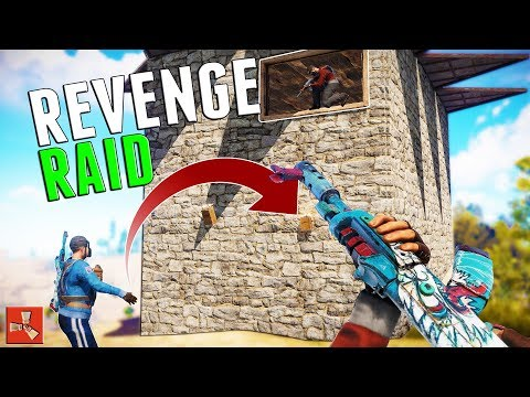THEY ROOF CAMPED US SO WE RAIDED THEM | Rust thumbnail