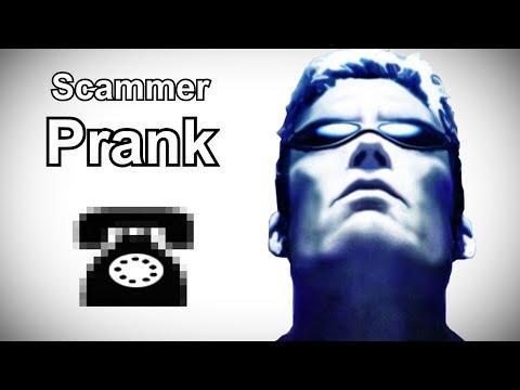 JC Denton Calls Indian Tech Support Scammers - Deus Ex Prank Call