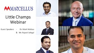 #Marcellus #LittleChamps Webinar with Dr Mark Mobius and Rajesh Sehgal   Equanimity   20th May 2020