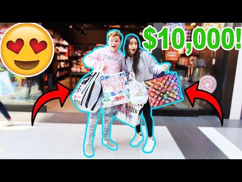TAKING MY GIRLFRIEND BLACK FRIDAY SHOPPING! ($10,000)