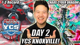 Yu-Gi-Oh! TEAMSAMURAIX1 DAY 2 YCS KNOXVILLE CHAOS CYBER DRAGON DECK PROFILE 2019! 7-3 RECORD!