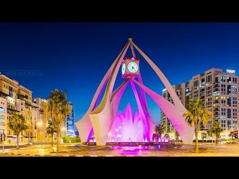 Dubai||Deira||Clock tower||Al Rigga street