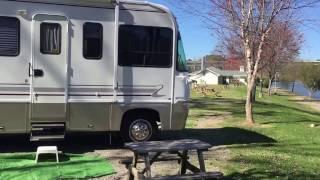 Camping at River Country RV park in Gadsden Alabama