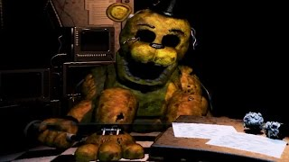 Five Nights at Freddy's 2 - NIGHT 6 - Golden Freddy Survived