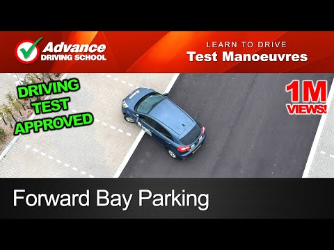 Forward Bay Parking Manoeuvre  |  2019 UK Driving Test