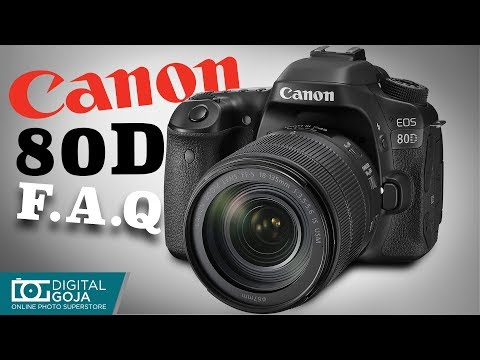 Most Asked Questions for Canon EOS 80D | TUTORIAL