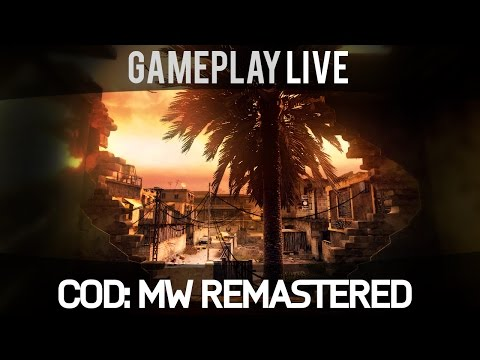 Call of Duty Modern Warfare Remastered - Gameplay (Domination - Backlot)