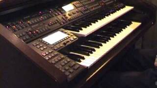 technics sx gx7 organ