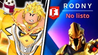 🤩 RODNY ROBLOX Play FORTNITE with me and this happens... 😁