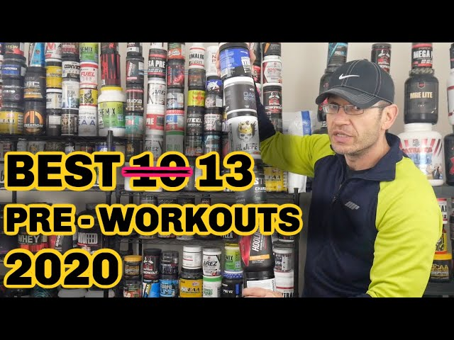 Best Pre Workout 2020 | The TOP 13 Strongest!