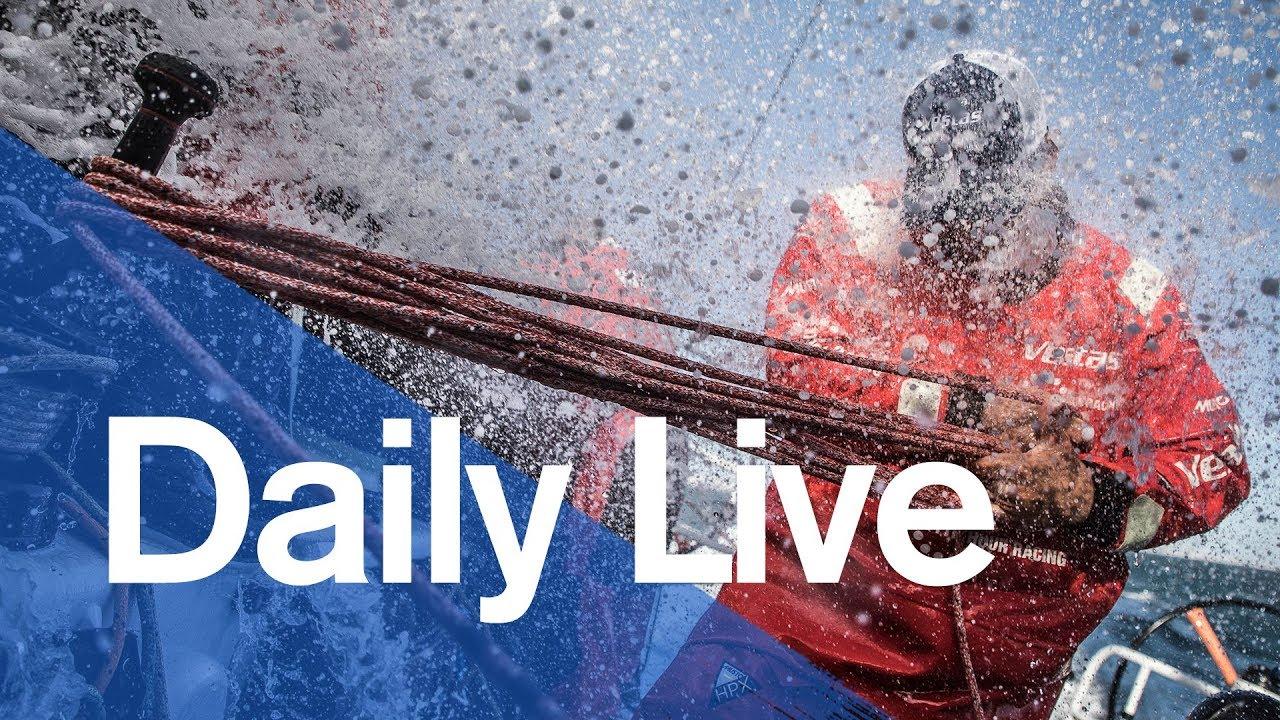 1300 UTC Daily Live – Sunday 19 November | Volvo Ocean Race