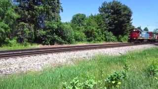 Grand Trunk Western GP38-2 back on the local freight trains