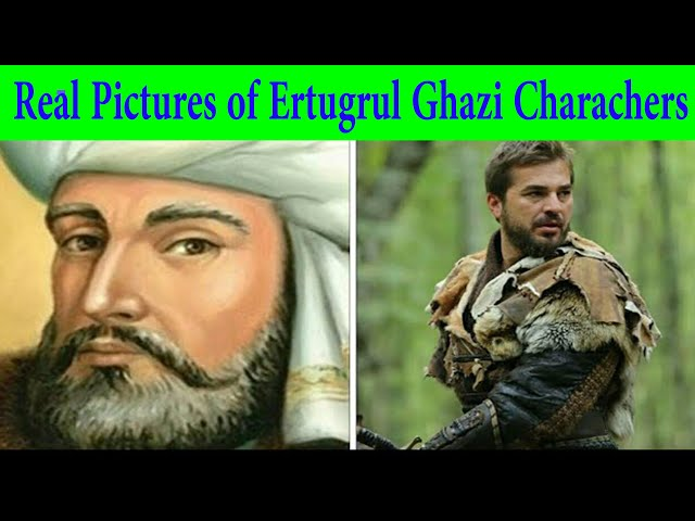 Real Pictures of Characters of Turkish Drama Ertugrul Ghazi | Real Ertugruals People | Real vs Actor