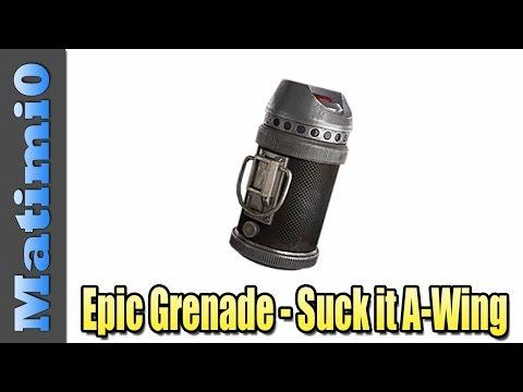 Epic Grenade - A-Wing Takedown - Star Wars Battlefront