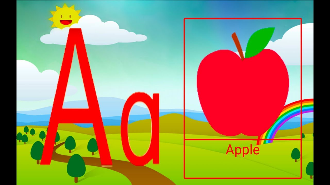 a to z kids game