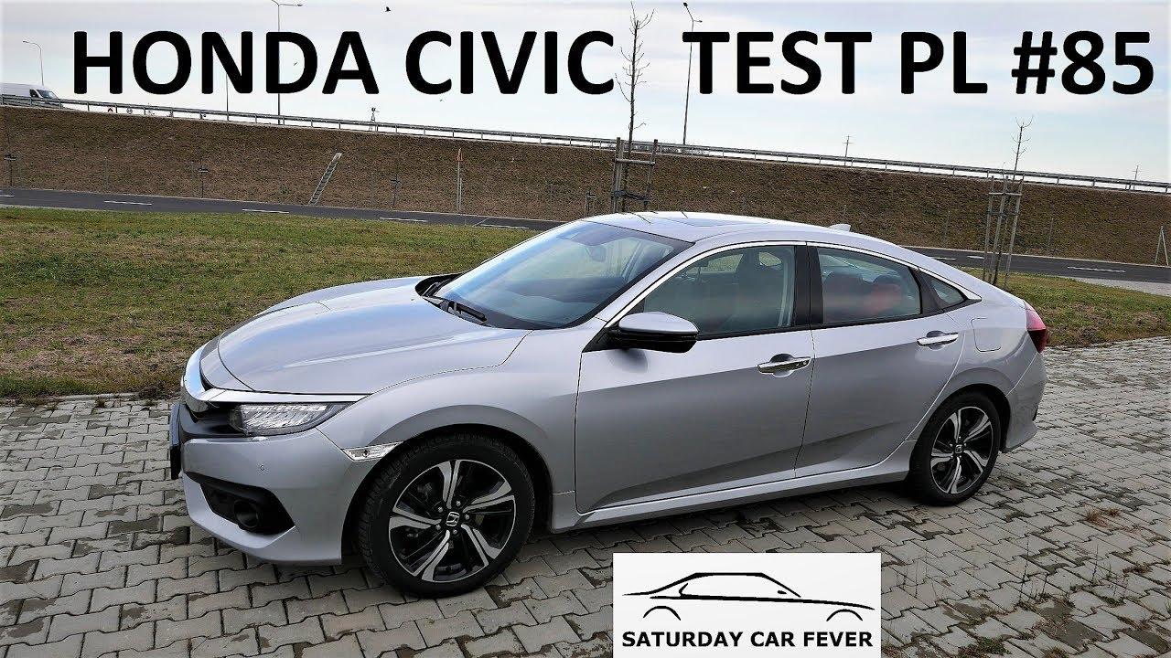 HONDA CIVIC 1.5 TURBO – TEST PL