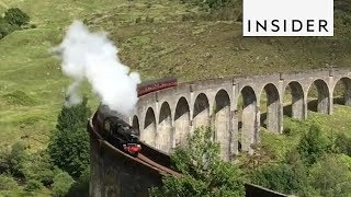Harry Potter Train in Real Life