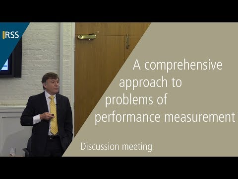 A comprehensive approach to problems of performance measurement