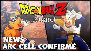 Dragon Ball Z Kakarot : News Gameplay Arc Cell Confirmé !