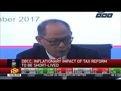 DBCC: Inflationary impact of tax reform will be short-lived