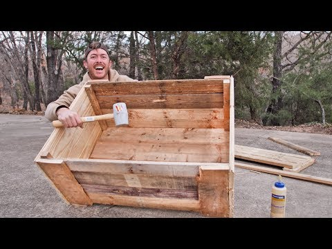 Building Camping Crates from Pallet Wood