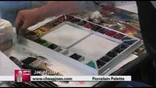 Cheap Joe's Porcelain Palette: Joe's Test Studio