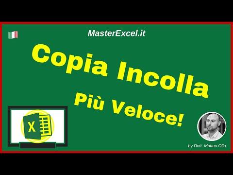 MasterExcel.it - Trucchetto di Excel: un Copia Incolla un po' più Rapido