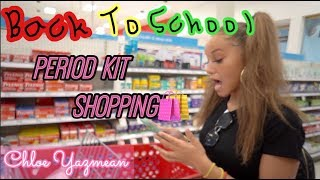 Back To School Period Kit Shopping 🥰+ Tips! (Very Helpful)