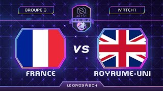 FRANCE vs ROYAUME-UNI - Coupe du monde 2021 | Phase de groupe - feat. @ULTIME AMINO