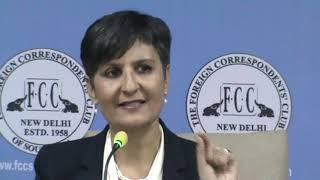 Australian High Commissioner Harinder Sidhu at the FCC on 20.12.18.