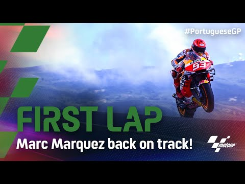 Marc Marquez completes his comeback with first lap   2021 #PortugueseGP