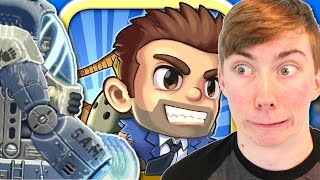 Jetpack Joyride - STRONG ARM MACHINE (S.A.M.) - Part 5 (iPhone Gameplay Video)